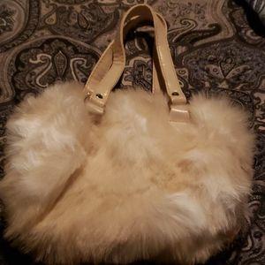 Amy Byer Bags - Amy Byer Fluffy Fur Cat Mini Purse